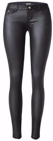 Women Faux Leather Pants