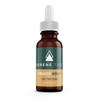 Orange Birch CBD Tincture - Serene Tree