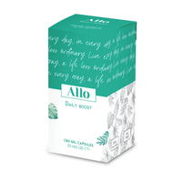 25mg Daily Boost Gel Capsules - Allo