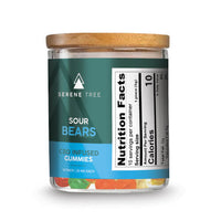 Serene Tree CBD Sour Gummy Bears