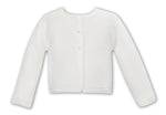 Sarah Louise 006708 Knitted Cardigan; Ivory
