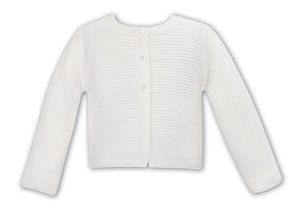 Load image into Gallery viewer, Sarah Louise 006708 Knitted Cardigan; Ivory