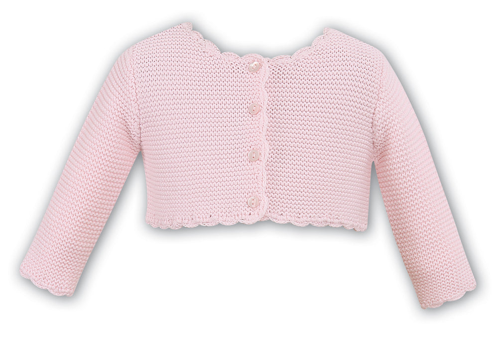 Sarah Louise 006719D knitted Cardigan; Pink
