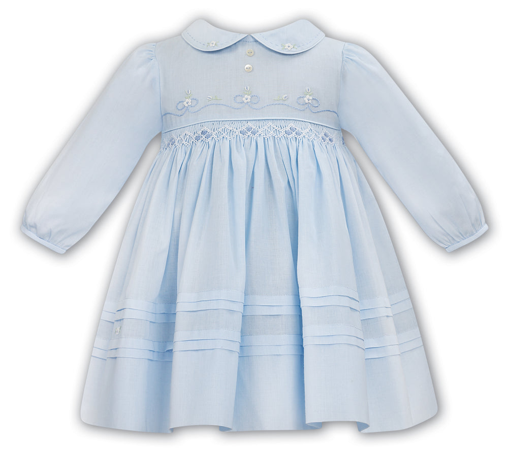 Sarah Louise 012058 Dress; Blue