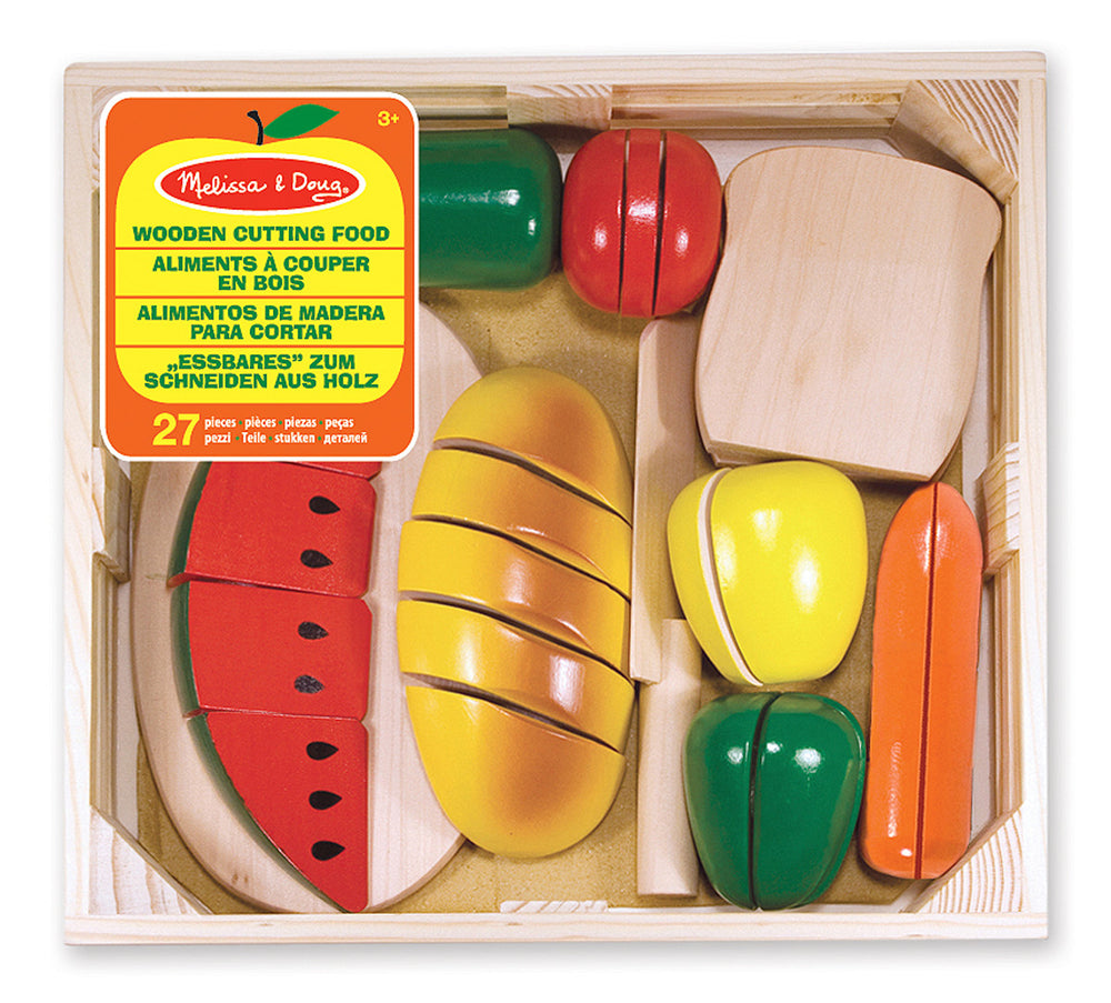 Melissa and Doug 'Wooden Cutting Food'