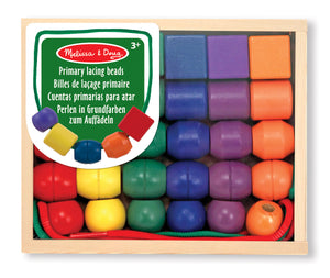 Load image into Gallery viewer, Melissa and Doug - 'Primary Lacing Beads'