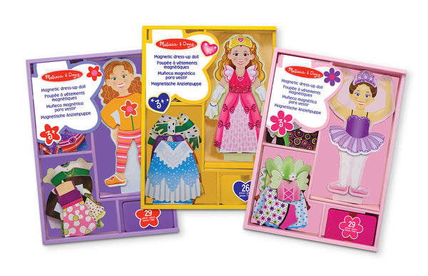 Melissa and Doug 'Maggie Leigh Magnetic Dress-Up Set'