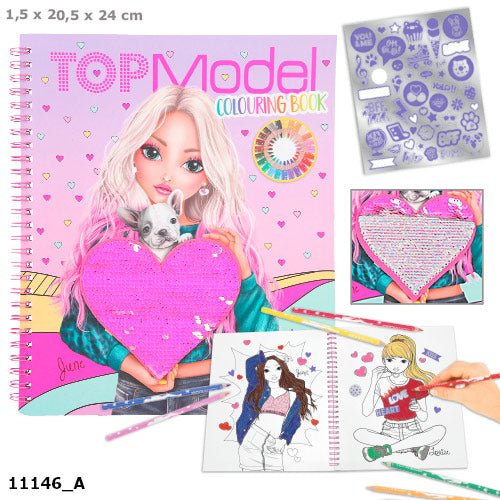 TOPModel - Colouring Book