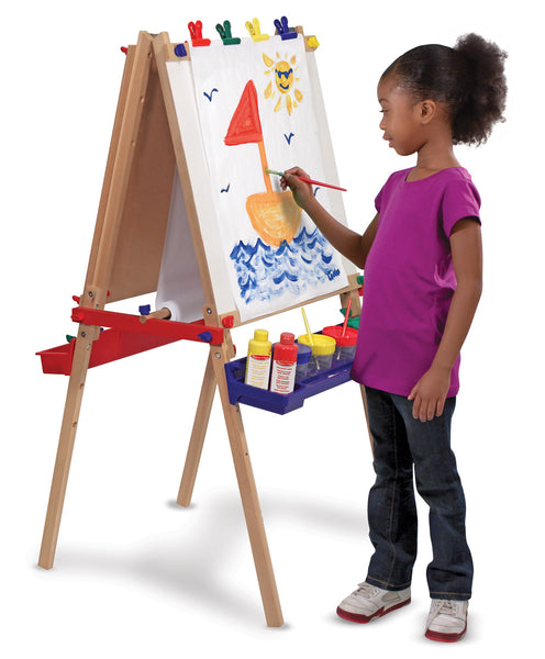 Melissa and Doug 'Deluxe Wooden Standing Art Easel'