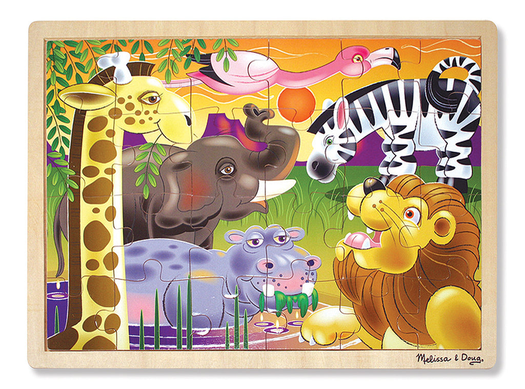 Melissa and Doug African Plains 24 piece Jigsaw
