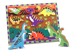 Melissa and Doug -  'Dinosaur Chunky Puzzle - 7 Pieces'