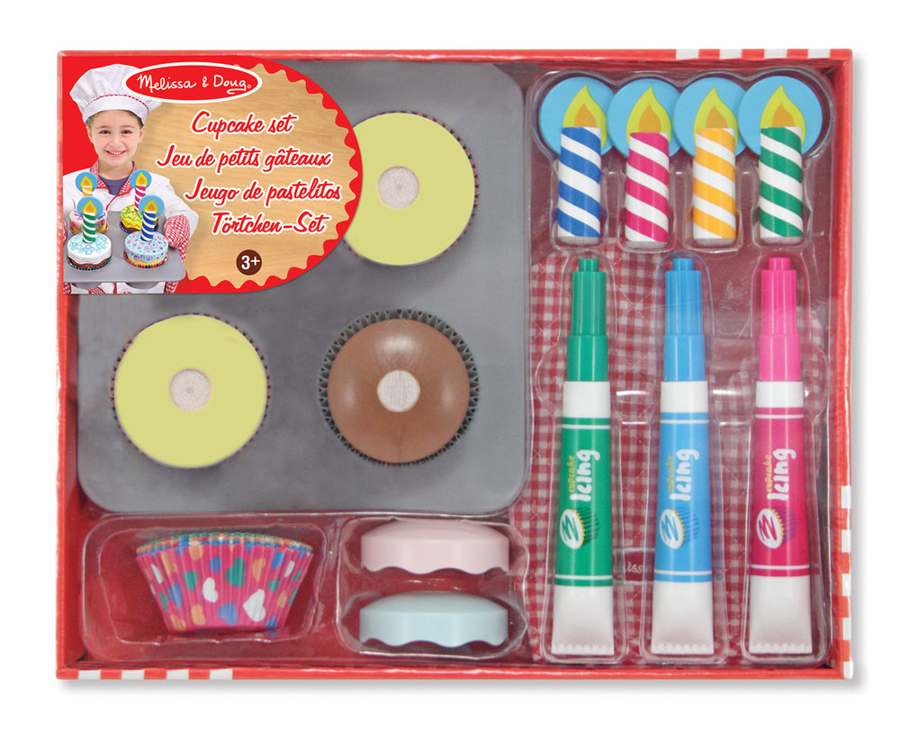 Melissa and Doug - Bake and Decorate Cupcake Set