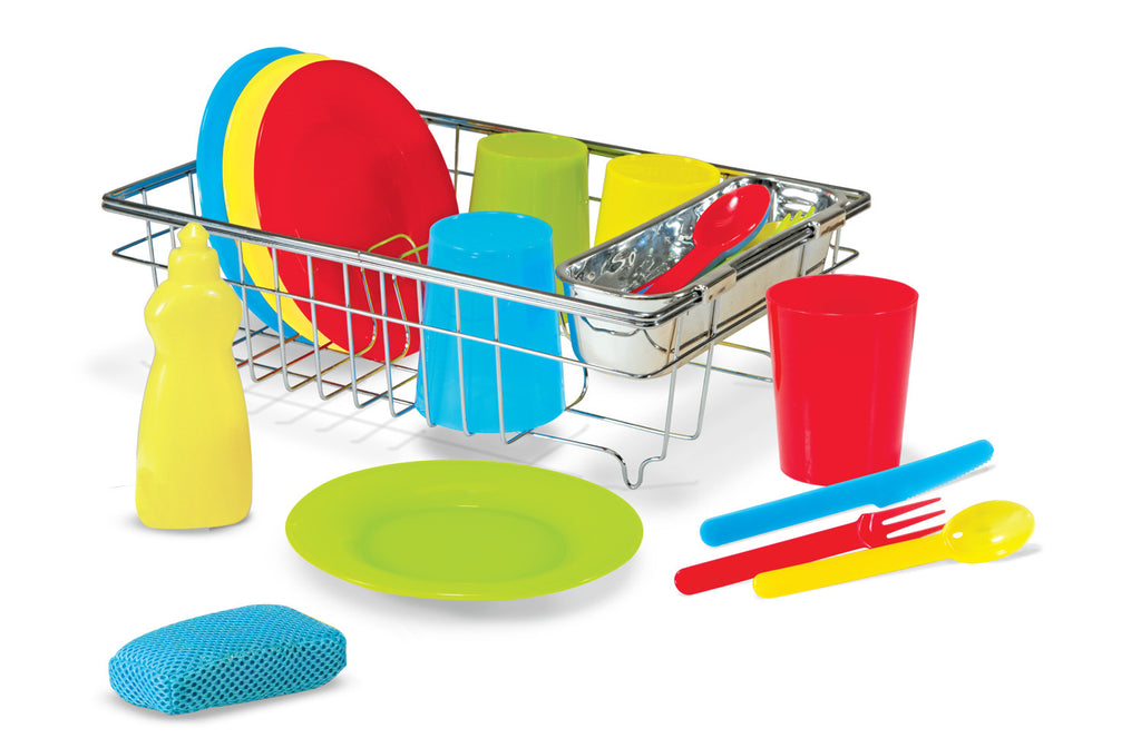 Melissa and Doug 'Wash and Dry Dish Set'