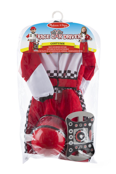 Melissa and Doug ' Race Car Driver Role Play Costume Set'
