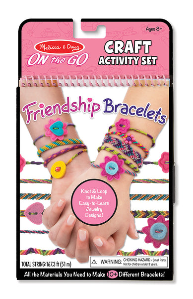 Melissa and Doug ' On-the-go Crafts - Friendship Bracelets'