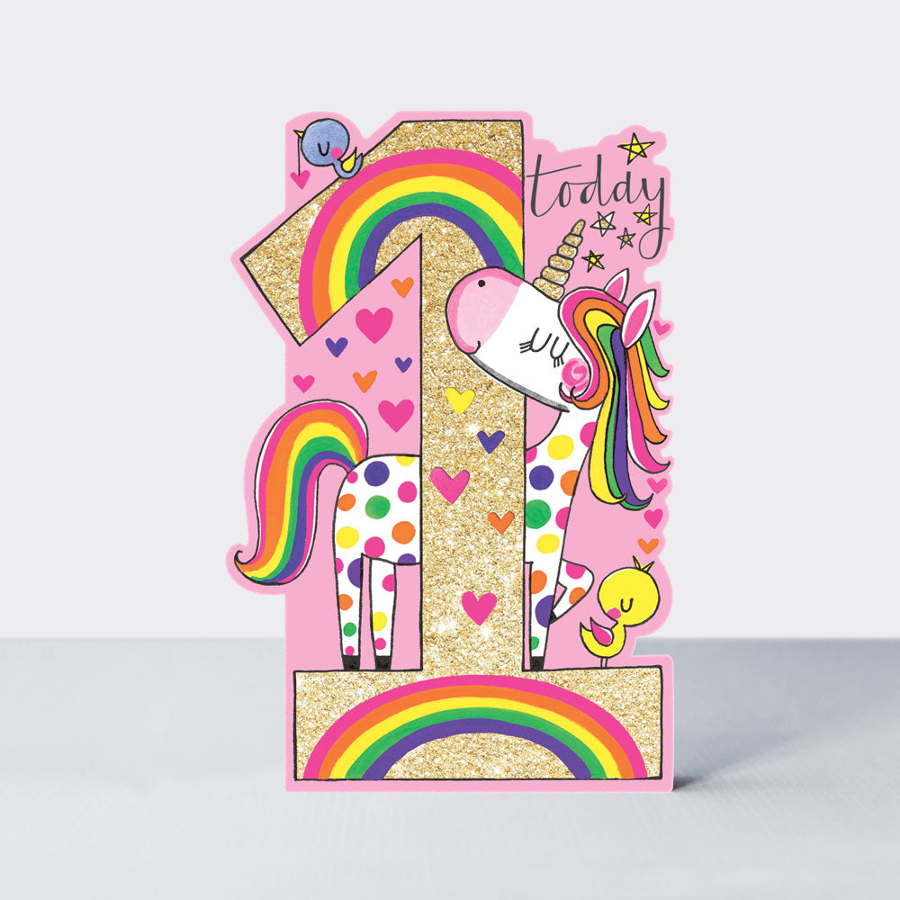 Age 1 - Unicorn Card