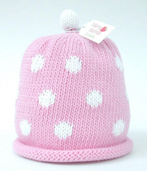 Merry Berries -  Pink Spot Hat