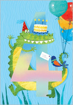 Age 4 - Snappy Birthday Card
