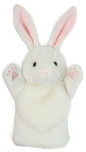 CarPet Glove Puppet - White Rabbit