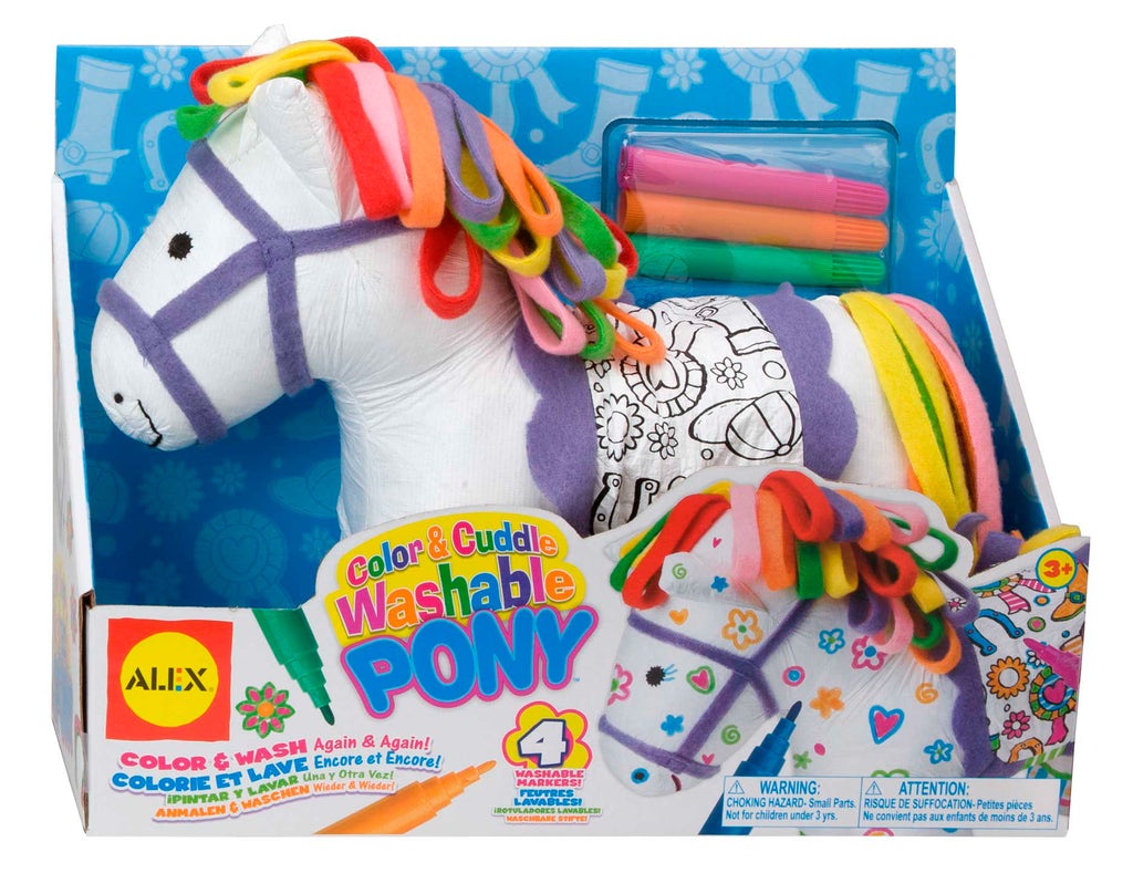 ALEX Toys - Craft Colour and Cuddle Pony
