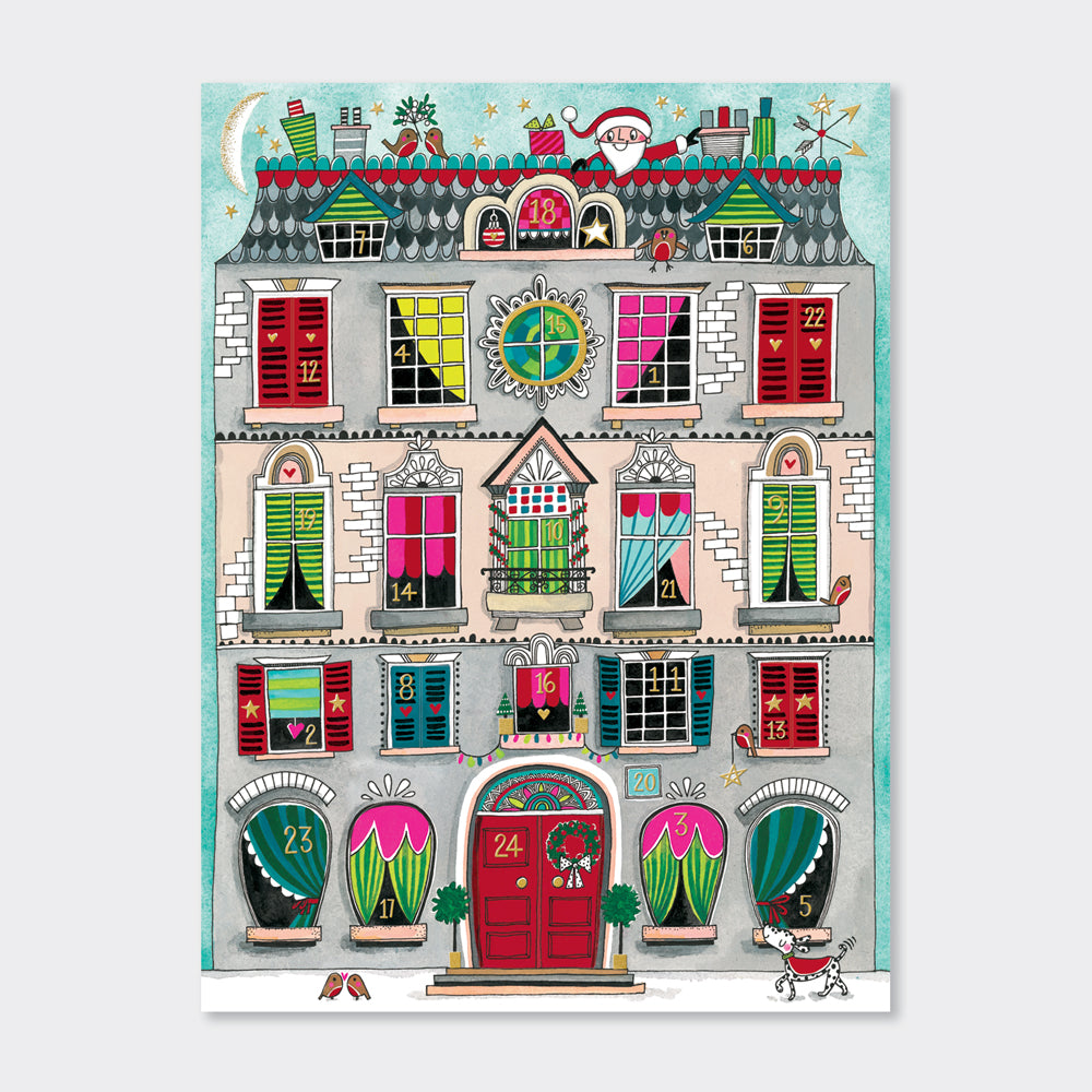 Rachel Ellen - Christmas House (Foiled)