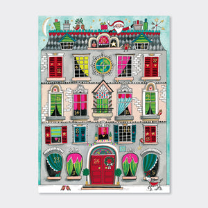 Load image into Gallery viewer, Rachel Ellen - Christmas House (Foiled)
