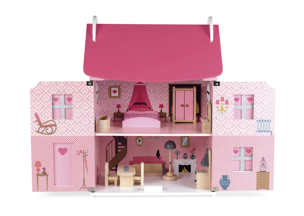 Load image into Gallery viewer, Janod - Mademoiselle Dolls House