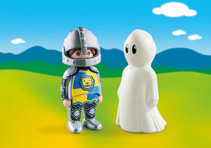 Playmobil 1.2.3 -  Knight with Ghost
