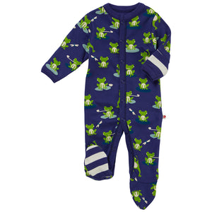 Piccalilly - Frog Footed Sleepsuit