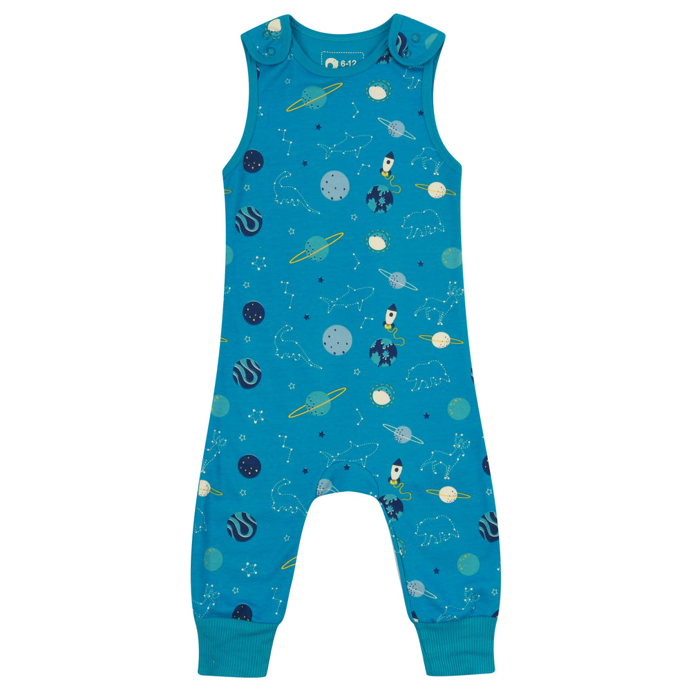 Load image into Gallery viewer, Piccalilly Space Dungarees