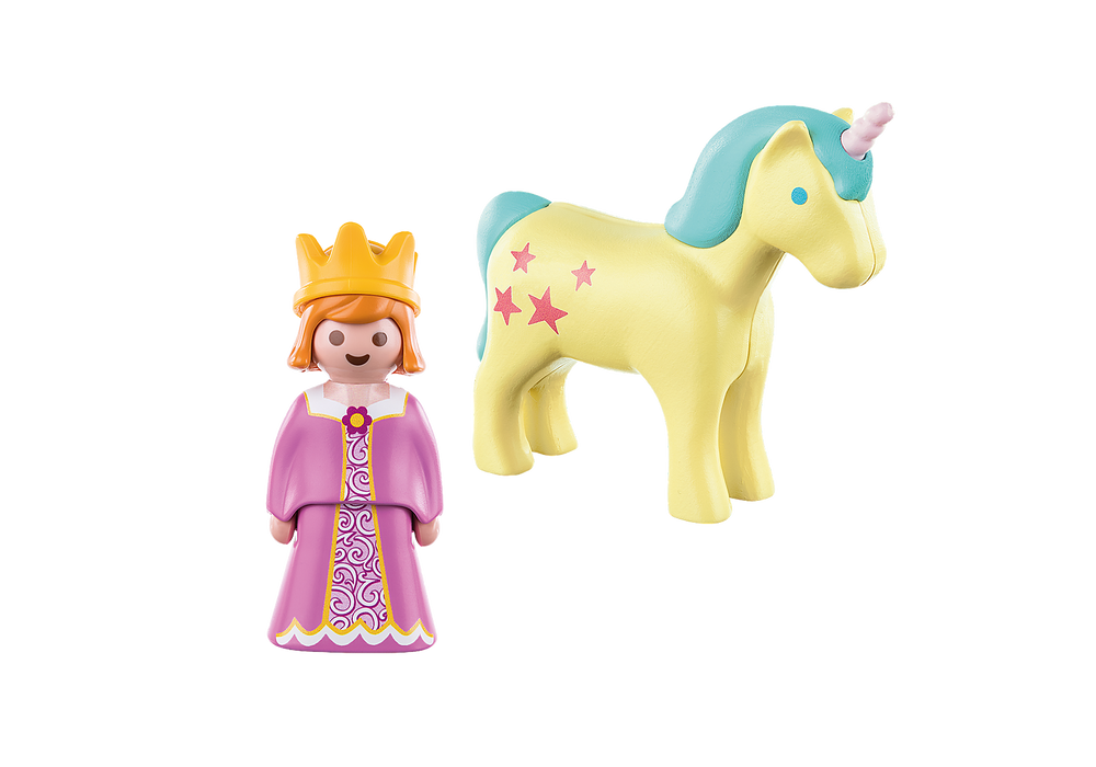 Load image into Gallery viewer, Playmobil 1.2.3. - Princess with Unicorn