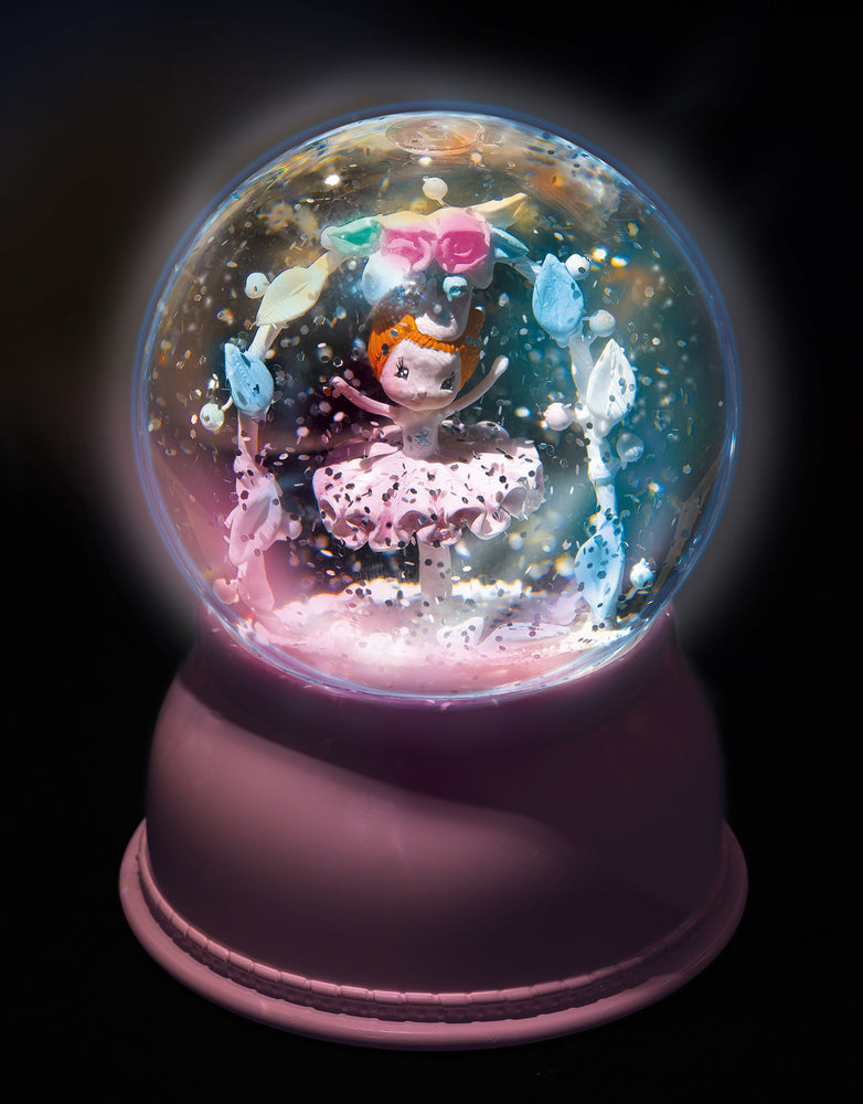 Load image into Gallery viewer, Djeco - Snow Ball Night Lights; Ballerina