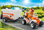 Playmobil - Rescue Quad with Trailer
