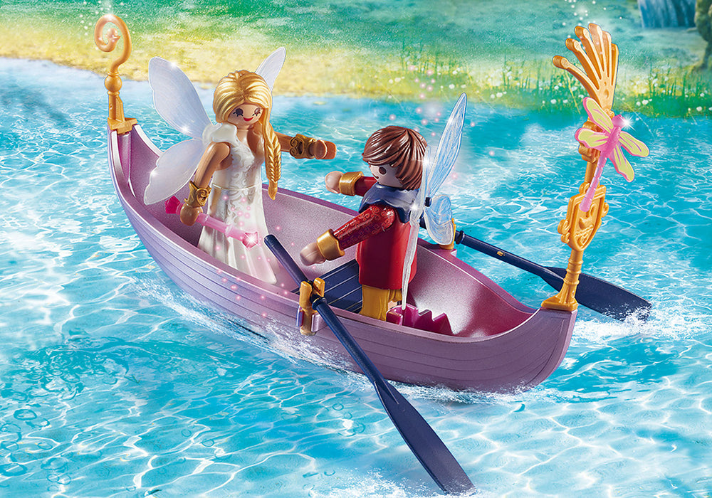 Load image into Gallery viewer, Playmobil - Romantic Fairy Boat