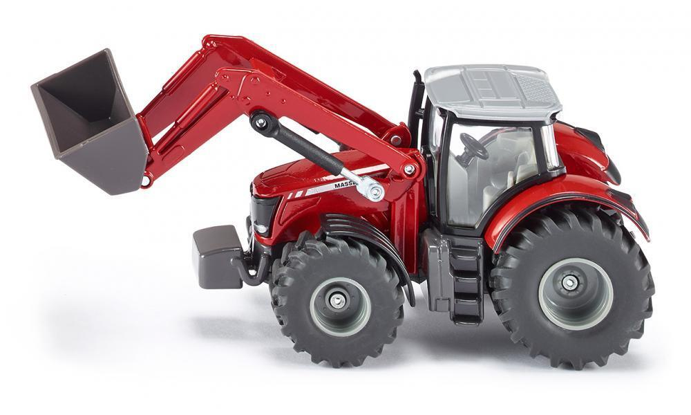 Siku - 1:50 Massey Ferguson Tractor with Front Loader 1985
