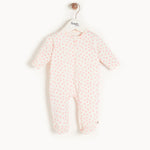 The Bonniemob - Sleepy Zip Sleepsuit, Pink