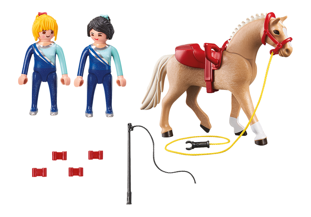 Load image into Gallery viewer, Playmobil - Vaulting