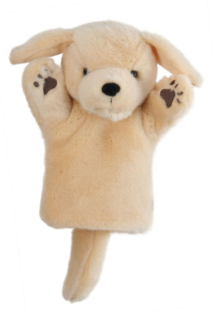 CarPet Glove Puppet - Yellow Labrador