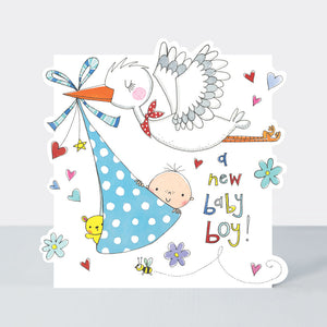 Load image into Gallery viewer, A New Baby Boy Card