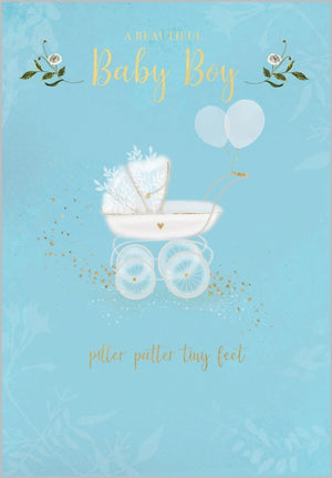 A Beautiful Baby Boy - Card