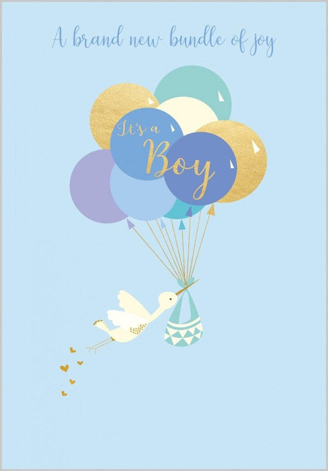 Load image into Gallery viewer, It's a Boy Card