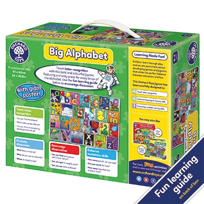 Orchard Toys - 26 Piece;'Big Alphabet Jigsaw