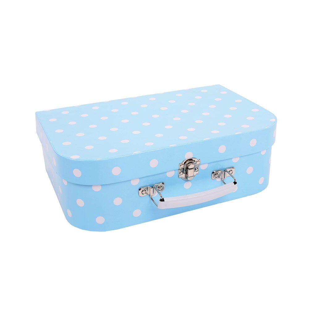 Bigjigs - Blue Polka Dot Tea Set and Case