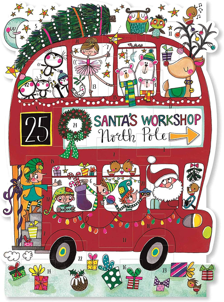 Rachel Ellen - Advent Calendar Christmas Bus