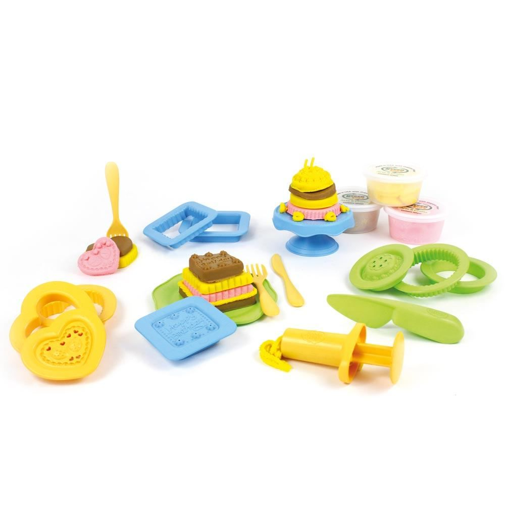 Load image into Gallery viewer, Green Toys - Cake Maker Dough Set