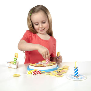 Melissa and Doug - Wooden Birthday Cake