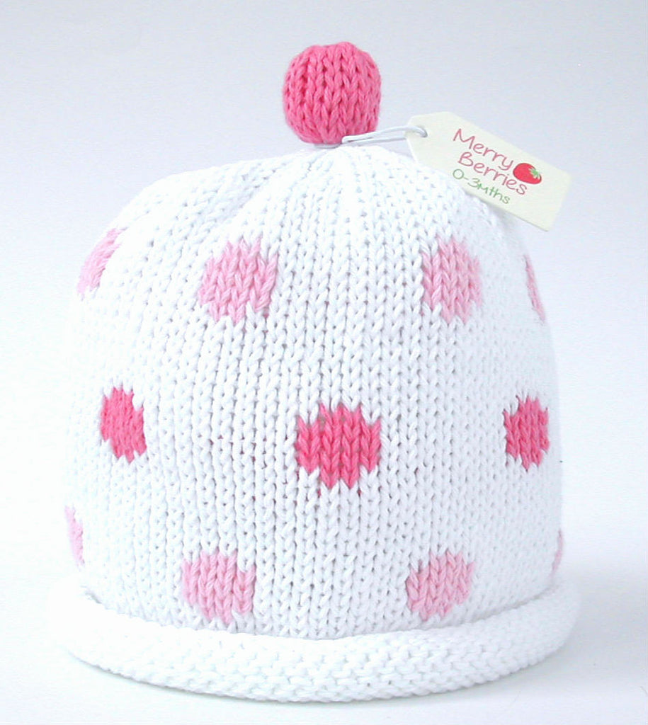 Merry Berries 'Candy Spot' Hat