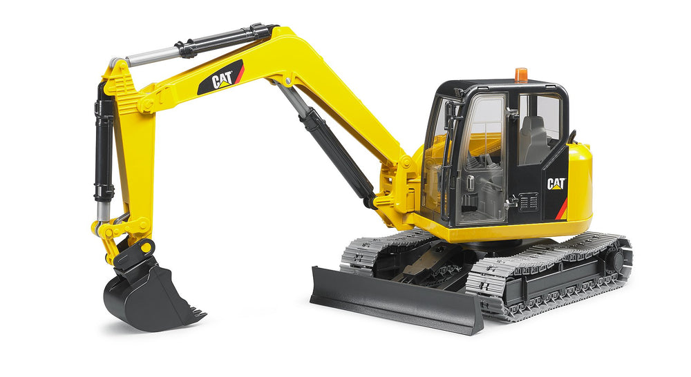 Load image into Gallery viewer, Bruder - CAT Mini Excavator