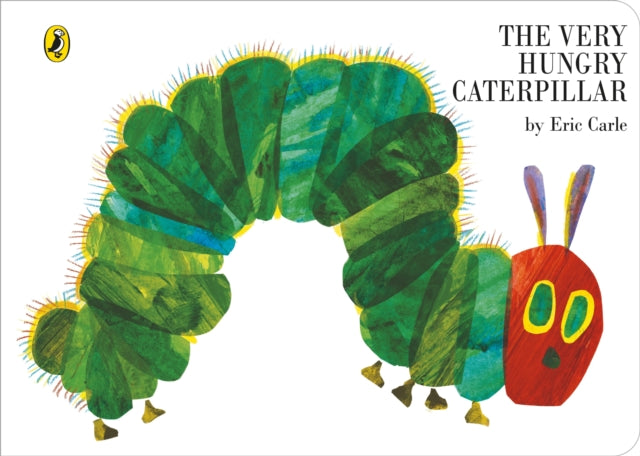 The Very Hungry Caterpillar by Eric Carle - Board Book