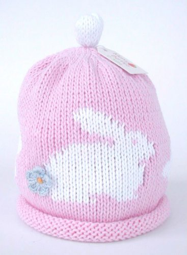Merry Berries - 'Bunny' Pink/white Hat